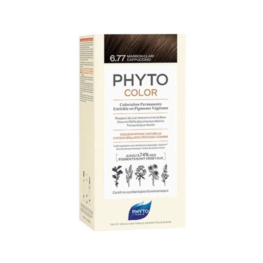 PHYTO Phyto Phytocolor 6.77 Light Brown Cappuccino Kahve